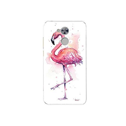 Para Huawei Honor 6A Caso DLI-TL20 Lindo Silicona Cubierta Trasera para Huawei Honor 6A 6 A Dibujos Animados TPU Teléfono Caso Flor 5-25-Para Honor 6A