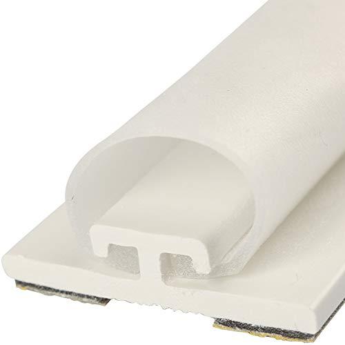 Rollladen-Dichtung HS1/10 Zugluft Dichtung für Spaltendeckung von 11-16mm Länge 1,25m