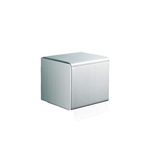 Hanpiyigzjh vävnadslåda, 1pc Modern Square Metal Paper Tissue Box Cover Hållare För Badrum Vanity Bänkskivor, Sovrum Dressers, Night Stands, Storlek: 130 * 136 * 145mm