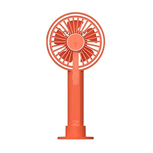 LXF JIAJU Mini Ventilador Portátil para Ventilador De Mano USB Recargable Ventilador De Ventilador Avión De Aire De Escritorio Ventilador De Viaje De Viaje (Color : Red)