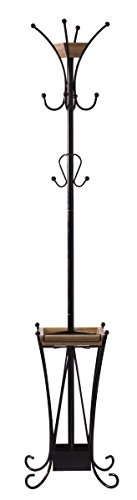Artesa Coat Rack with Umbrella Stand and Removable Tray