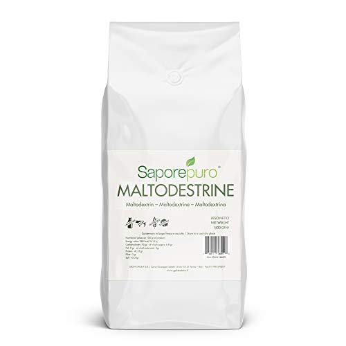Maltodextrina pura - 1500 gr