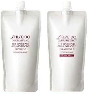 Shiseido资生堂 AQUA INTENSIVE 洗发水 450 毫升 & 护发素2 450 克
