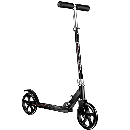 WHOJS Patinete Ajuste de altura de 3 velocidades Plegable portátil Scooter de...