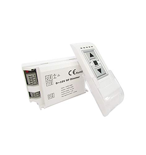 Led dimmer signaal 0-10V draadloos met afstandsbediening RF 220 V max. 200 W DM015