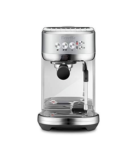 Breville the Bambino Plus Espresso Machine, One Size, Brushed Stainless Steel