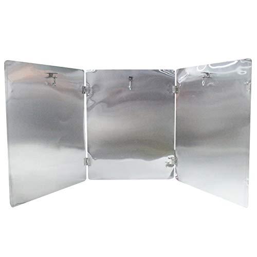 GEEKEN 1X Reflector de Calentador de Terraza, Calentador Reflector Centralizado Plegable PortáTil, Adecuado para Patio Al Aire Libre