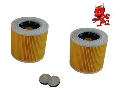 2 Cartouche de Filtre Filtre Rond Lamellenfilter pour Dewalt D27902
