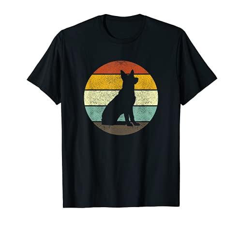 Retro Vintage German Shepherd Dog Hund Shirt Gift T-Shirt