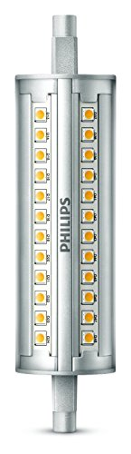 Philips ampoule LED Crayon R7s 118mm 14W Equivalent 120W Blanc Compatible Variateur