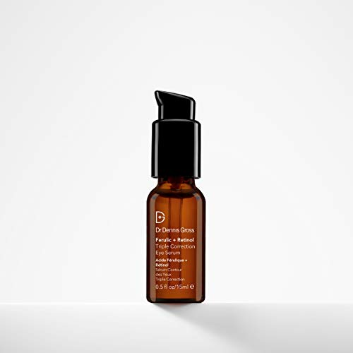 Dr. Dennis Gross Skincare Ferulic + Retinol Eye Serum, 0.5 Ounce
