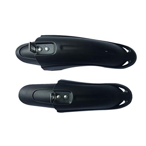 BESPORTBLE 1 para Bike Fender Kinder Fahrrad Hinten Vorn Mountainbike Mud Guard Kotflügel Schnellspanner Radfahren Fender Reitausrüstung Zubehör (Schwarz)