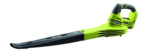 Ryobi Akku Laubbläser OBL1820S (ohne Akku, Laubgebläser mit Hochleistungs-Luftdüse, 18 V, Luftgeschwindigkeit 245 km/h, kompaktes Design) 5133002663