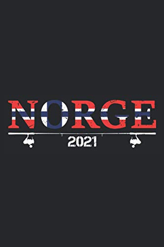 Norge 2021: Schickes Norwegen Notizbuch für Angler für den nächsten Norge 2021 Angelurlaub. Witzige Norwegen Geschenke Männer zum Dorsch Angeln und Hochseeangeln - 100 Seiten A5 Liniert