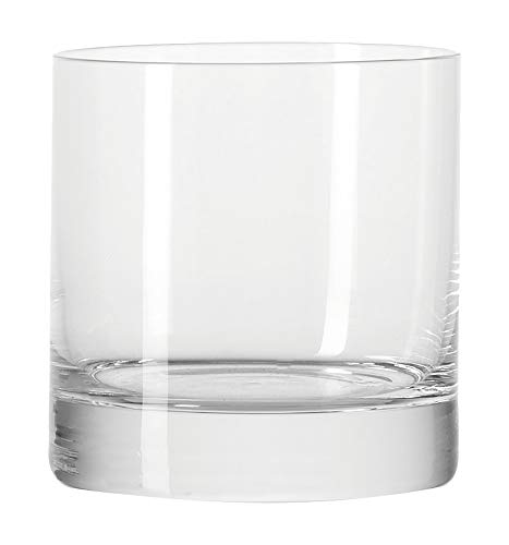 Leonardo Whiskyglas Bar, 6-er Set, 380 ml, spülmaschinengeeignet, Klarglas, 026661