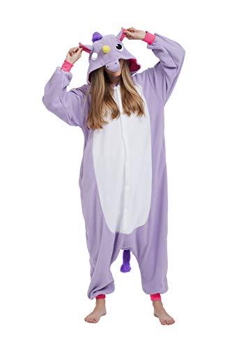 Adulto Onesie Cosplay Animal Pijamas Halloween Kigurumi Anime Costume L