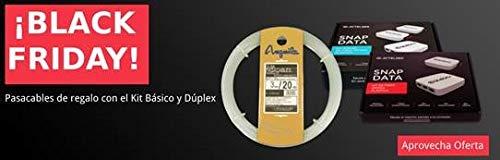 ACTELSER Kit Básico de Fibra Óptica Plástica Snap Data + GUIA...