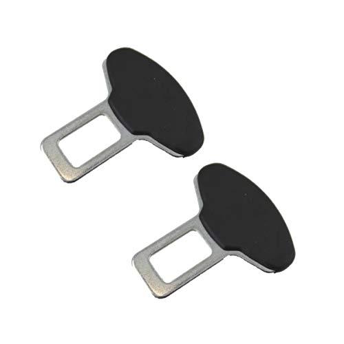 Pentaton Anti Gurtwarner Gurtalarm Stopper 2er Pack Sitzalarm Dummy aus Aluminium in Schwarz