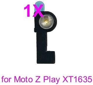 PHONSUN Front Flash Light Flex Cable Replacement for Motorola Moto Z Play XT1635 01/02/03 (Black)