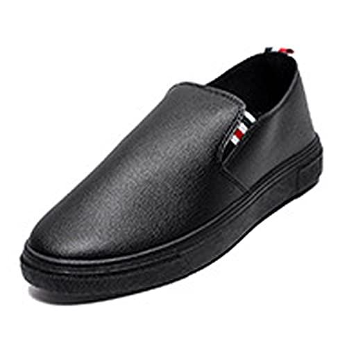 [エアバイ] メンズ スリッポン スニーカー 黒 紐なし おしゃれ 軽 軽量 軽い 通学 仕事 通勤 大きい サイズ やわらかい ゆったり あるきやすい オシャレ 可愛い きれいめ かっこいい ファッション はばひろ めんず 履きやすい はきやすい ひもな