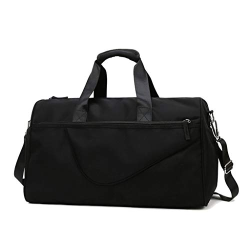 hongbanlemp Travel Duffle Bag Foldable for Men Women, Sports Gym Bag with Shoe Compartment Folding Luggage Holdall Bag (Color : C, Size : L)