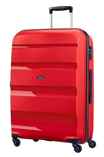 American Tourister Bon Air - Spinner L Equipaje de mano, 75 cm, 91 liters, Rojo (Magma Red)