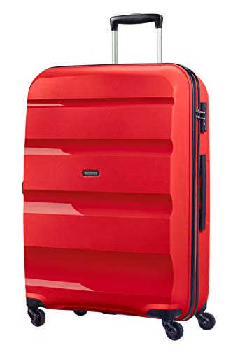 American Tourister Bon Air Spinner Suitcase 75 cm, 91 L, Red (Magma Red)