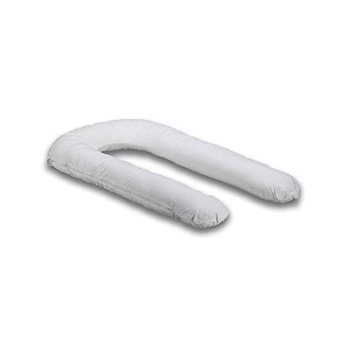 Moonlight Comfort-U Deluxe Total Body Support Pillow with 50/50 Poly Cotton Case. Comfort-U Deluxe Total Body Support.