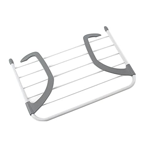 JINGGL Toallero, Portaasciugamani Caballera de Secado Plegable Cuarto de baño Al Aire Libre Ropa portátil Percha Balcón Secadora de lavandería Airero Zapatos Toalla Poste Secado Holder