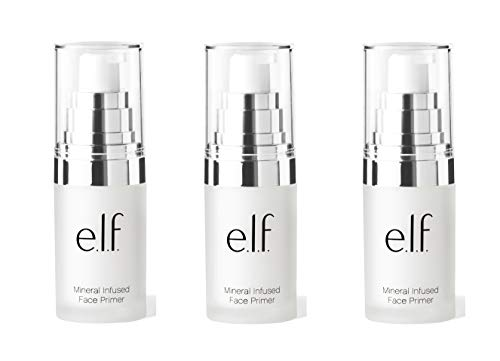 e.l.f. Mineral Infused Face Primer Small .47 Ounce 3 Pack
