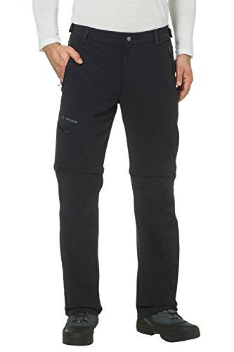 Vaude Herren Farley Stretch T-Zip Hose II, Schwarz, 54/XL(kurz) , 04575