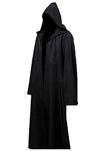 Capa Negra Con Capucha  marca LHJ