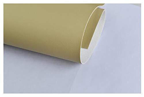 GERYUXA Tela de cuerode Polipiel para tapizar, Manualidades, Cojines o forrar Objetos. SofáS, Asientos para Autos-T3 1.37x6m
