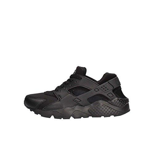 Nike Huarache Run (Gs), Scarpe da Corsa Bambino, Nero (Black/black Black), 38.5