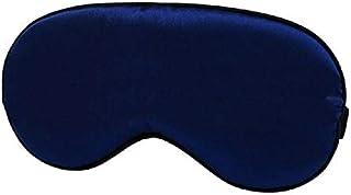 Silkly Soft Eye Mask Sleeping Aid Shade Cover Travel Relaxing Eye Mask (Blue)