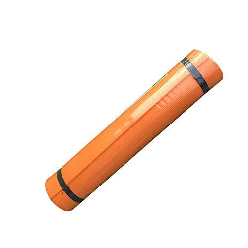 Eileen Ford Günstige Yogamatten | 4mm Übung Yoga Mat Pad Pad rutschfest Gewichtsverlust wasserdichte Sportmatte Übung Feuchtigkeitsbeständige Pad Fitness Gymnastik Matten-Orange-