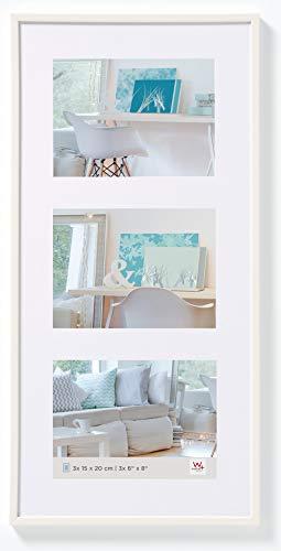 New Lifestyle Kunststoff Galerie Rahmen 3x10x15, weiß