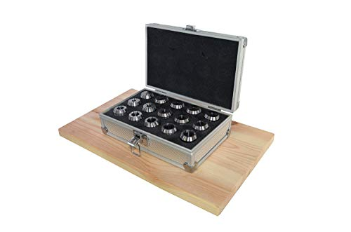 PAULIMOT ER25-Spannzangen-Set 2-16 mm 15-teilig im ALU-Kasten