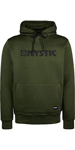 Mystic Heren Vest Brand Hood Sweat - Moss Groen M