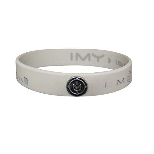 IMY Message Marken-Armband RELAX vegan mit IMY Logoniete