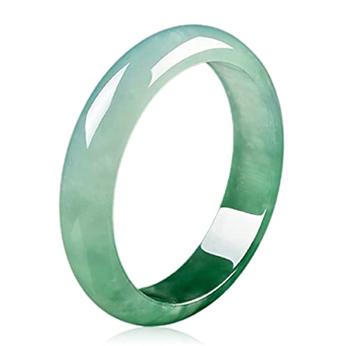 Armreif Armbänder Natürlicher Jade Schmuck Echtes Grünes Reines Jade Armband Bedeutung Glücklich Gesund Sicher, 58mm / 2.28inch