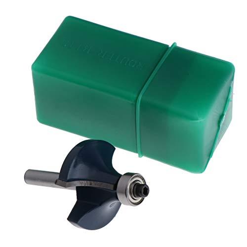 45 Grad Lock Mitre Oberfräser Abrundfräser mit Kugellager, 1/2 Zoll Dia, 6mm Schaft