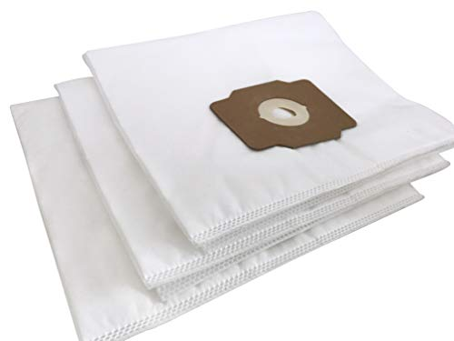 Central Vacuum Bags - Premium Non-Woven Cloth Central Vac Bags Compatible Replacement for Beam, Electrolux, Eureka, Kenmore, Husky, Mastercraft, White Westinghouse, Nutone, Broan and Other Brands