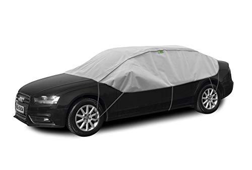 Winter Lsedan Schutzplane Sonnenplane Schutz vor Sonne und Frost geeignet für Audi A3 8V ab 2012 Halbgarage