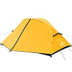 professional Forceatt Camping Tent A waterproof and windproof portable backpack tent for 1-2 people. Easy to use.