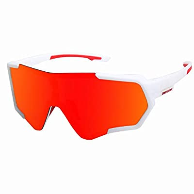 Cycling Glasses Sports Sunglasses Polarized UV400 Protection Baseball Ski