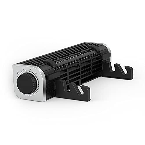 Gjj*dfgh Almohadilla de enfriamiento portátil, Radiador de los portátiles Radiador de Gaming Radiador Alto Volumen de Aire Base de enfriamiento USB Soporte de Ventilador.