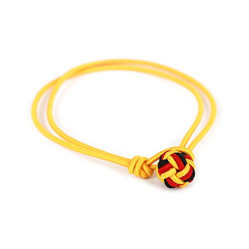 Insignitum Armband Deutschland WM 2018 schwarz rot Gold Weltmeisterschaft Fanartikel (L - Armumfang ca. 20 cm)