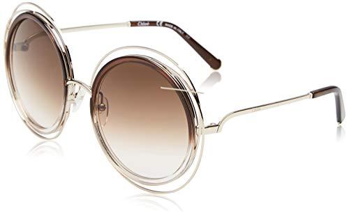 Chloé CE120S 742 58 Montures de lunettes, Marron (Gold/Gradient Brown), Femme