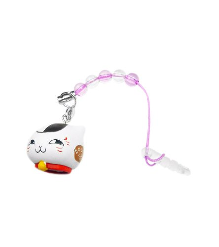 Natsume's Book of Friends: Earphone Jack Plug Tassel - Nyanko Sensei